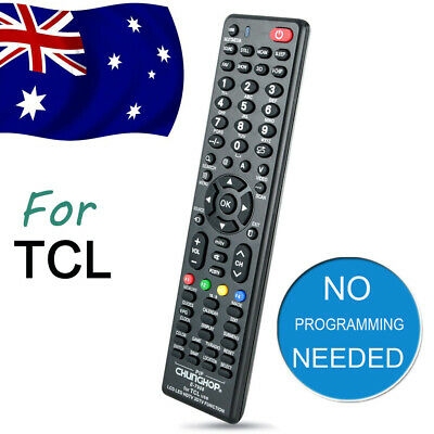 TCL Smart TV Universal Remote Control NO PROGRAMMING For 3D HDTV LED LCD TV AU