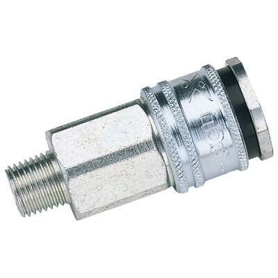 "Euro Coupling Male Thread 1/2"" Bsp Parallel (Sold Loose) Draper 54406"