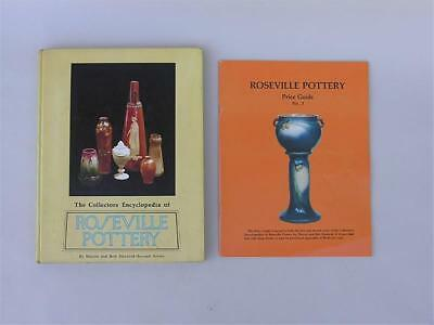 Roseville Pottery Collectors Encyclopedia & Price Guide Huxford 1980 Book Signed