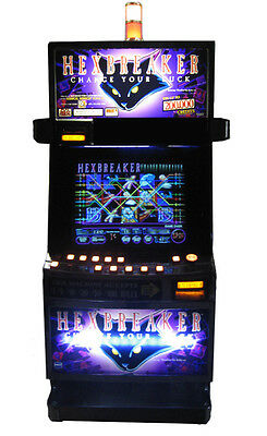Igt Hexbreaker Video Machine With Brand New Lcd Screen, Free Shipping