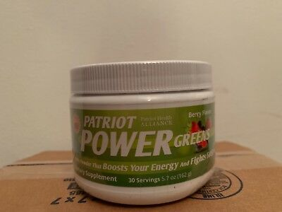 Power Greens *BERRY FLAVOR* NEW/SEALED~30 SERVINGS~BOOSTS ENERGY/FIGHTS FATIGUE