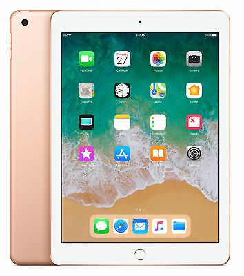 Apple iPad 6th Gen. 32GB, Wi-Fi, 9.7in, 2018, Apple Warranty, New Sealed - Gold