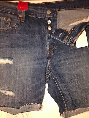 f414b3a5 Levi's 501 Ct Women's Customized Tapered 100% Cotton Shorts. Size 31#204