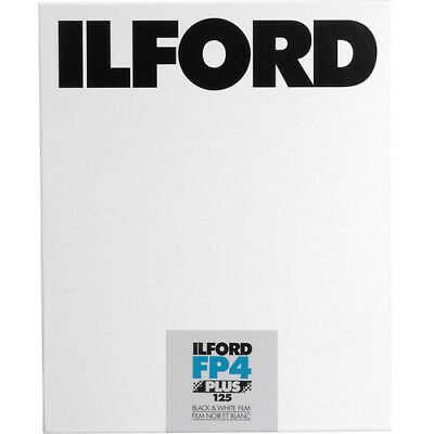 "Ilford FP4 Plus Black and White Negative Film (4 x 5"", 100 Sheets)"