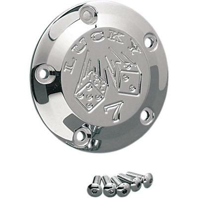 Joker Machine 5-Hole Points Cover Lucky 7 Chrome #02-99L Harley Davidson