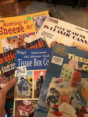 LOT OF 60 Plastic Canvas Pattern Books Leisure Arts And More Vintage Gorgeous Plastic Canvas Pattern Books
