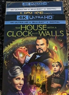 New The House with a Clock in its walls 2018 4k ULTRA HD & Blu-ray NO DIGITAL