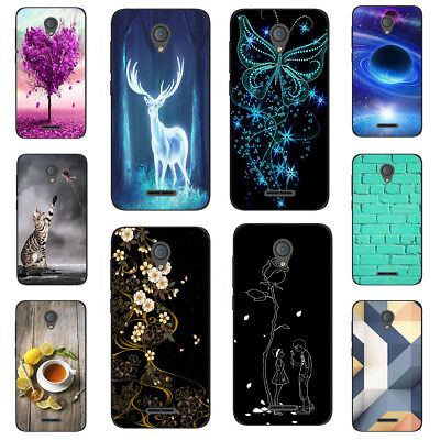 For Alcatel 7 Folio 5V 7 5 3X 3C 3V 3 1 1C 1X TPU Soft Phone Case Cover Deer Cat