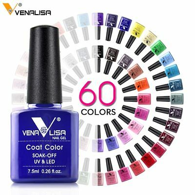 Nail Art Design Manicure Venalisa 60Color 7.5Ml Soak Off Gel Polish UV Led