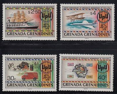 Grenada Grenadines 1982 Centenary in the UPU set, mnh