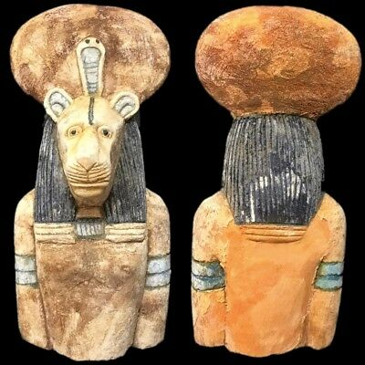 BEAUTIFUL ANCIENT HUGE EGYPTIAN STATUETTE 300 BC (2) 17cm Tall !!!!!