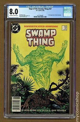 Swamp Thing (2nd Series) #37 1985 CGC 8.0 0217704008
