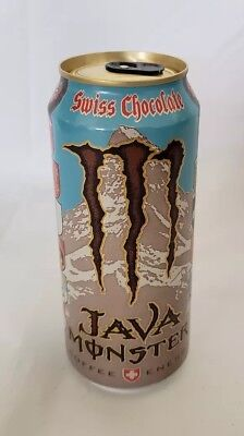 Monster Energy Drink  Java Swiss Chocolate 15oz Can Unopened Rare and New