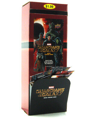 2014 Upper Deck Guardians Of Galaxy Movie Trading Cards 36 Packs Counter Display