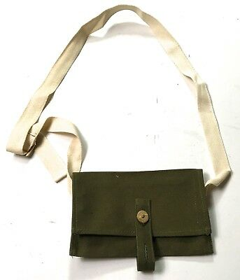 Wwi Russia Russian Pattern 1917 Nagant Rifle Ammo Carry Bag-