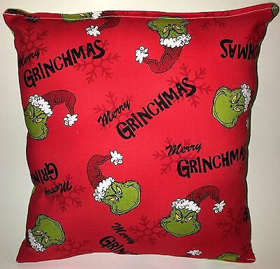 Grinchmas Pillow The Grinch Christmas Pillow Winter Fest Holiday Pillow Dr Seuss