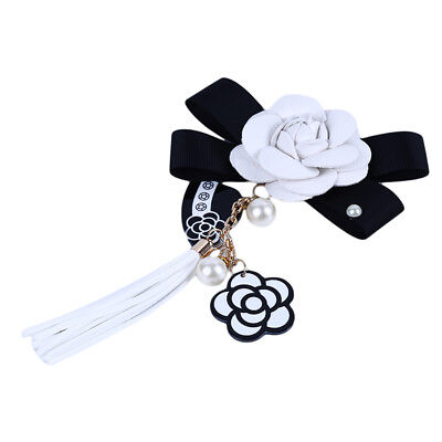 Women PU Leather Flower Hat Tassel Hand-adhesive Mobile Phone Shell Pendant BS