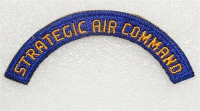 Army Air Force Tab Patch: Strategic Air Command