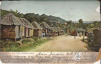 Typical Village, PUERTO RICO - 1906