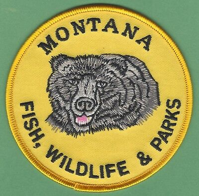 Montana State Fish Wildlife & Parks Patch