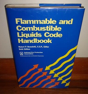 FLAMMABLE & COMBUSTIBLE LIQUIDS CODE HANDBOOK-6th Edition-SUPERB hc w/dj-UNREAD!