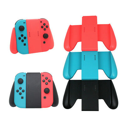 Joy-Con Comfort Grip Handle Bracket Holder Charger Charging for Nintendo Switch