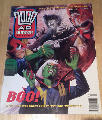 2000ad Winter Special 1994 Number 6 Rare UK Comics Great Condition No 6
