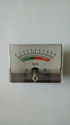 Abgastester CO Tester Analog Anzeige 60x80mm