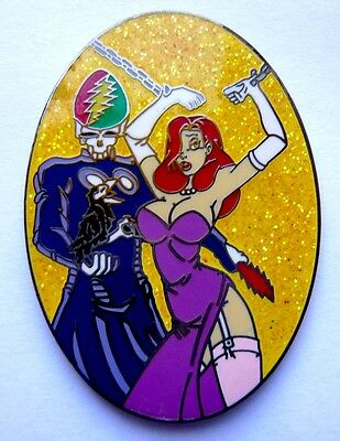 BIG Pin´s EGF NEUF Tirage Limité 50 Exemplaires PIN UP JESSICA - ROGER RABBIT