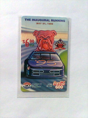 1995 RED DOG Limited Edition $6 Phone Card NEW from Speed Call