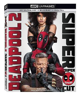 Deadpool 2 (4K Ultra HD Blu-ray Disc ONLY, 2018) - Super/Extended Cut ONLY