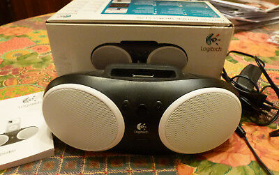 Logitech S125i Portable Speaker Dock pour iPod 1,2 / iPhone 1,2,3,4