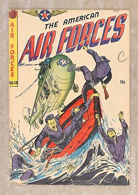 American Air Forces #10 1952 GD 2.0