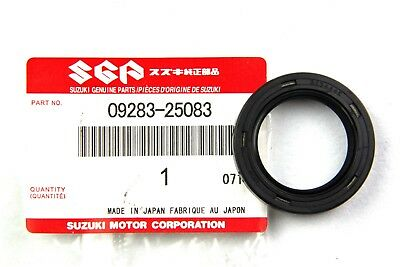 09283-25083 SUZUKI Front Wheel Seal, LH(25X37X6) New Genuine OEM Part SUZUKI