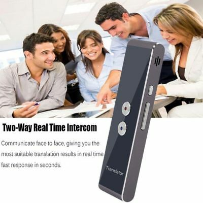 2-Way Smart Instant Voice Speech Translator Real-time Bluetooth 30 Languages New