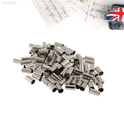 5E70 100pcs Cycle Brake Cable Housing Ferrule End Crimp For Bike Bicycle Part Si
