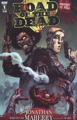 Road Of The Dead Highway To Hell (IDW) 1A 2018 Santiperez VF Stock Image