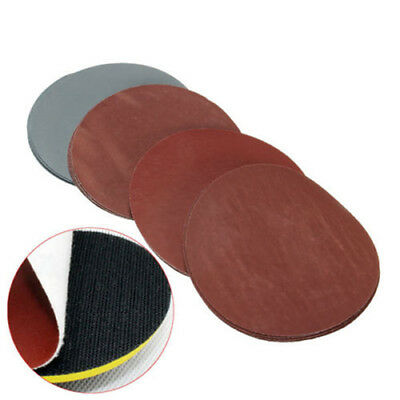 "20pc 5"" 1000/1500/2000/3000 Grit Sanding Disc Hook Loop Sandpaper Sand Paper Set"