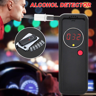 Digital Breathalyzer Breath Test Alcohol Tester Professional Analyzer Detector