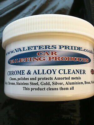 500ml Chrome & Alloy Cleaner and polish It's also suitable for many other metals