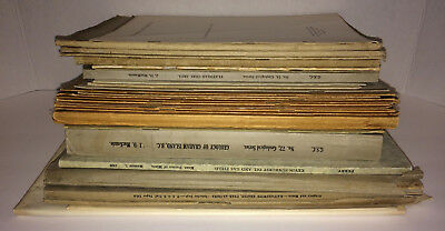 31 Geological Survey Bulletins, Maps, Professional Papers (1893, 1910s-40s)
