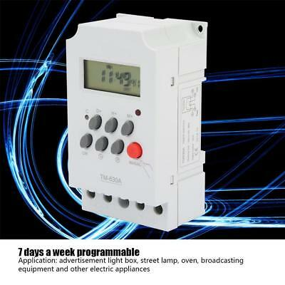 TM630A 12VDC/AC220V LCD Digital Time Relay Microcomputer Control Timer Switch