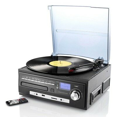 Plattenspieler MHX-550.LP Musikplayer Digitalisierer Schallplatte CD MC MP3 USB