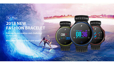 Waterproof Sports Smart Watch Blood Pressure Heart Rate Monitor for iOS Android