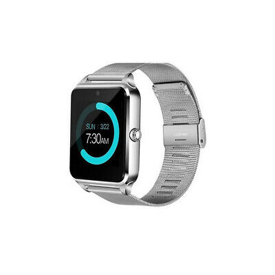 Bluetooth Smart Watch GSM SIM Phone Mate Z60 Stainless Steel For IOS Android CHZ
