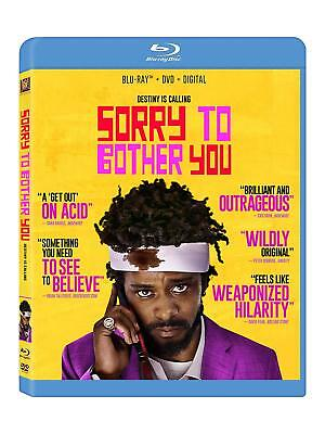 Sorry to Bother You (Blu-ray Disc ONLY, 2018)