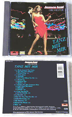 JAMES LAST ORCHESTER Tanz mit mir .. Silber rote 1988 Polydor CD TOP