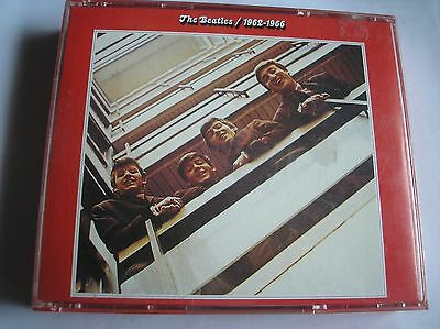 THE BEATLES  – 1962-1966 - 1993 Apple 2xDisc Fat Box CD Made In Holland
