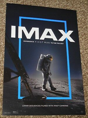 First Man IMAX 13x19 Promo Movie POSTER