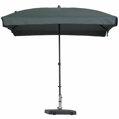 Madison Parasol Patmos Luxe 210x140 cm Grey Garden Beach Patio Umbrella PAC1P014